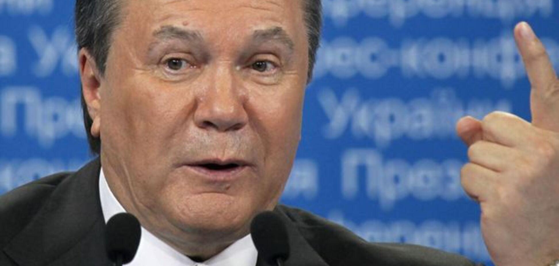 Янукович розповів про 'технології держперевороту' на Майдані