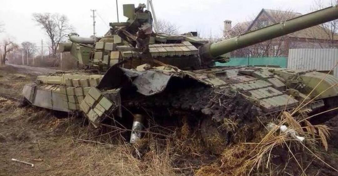 фото подбитых украинских танков сплетен шелкового