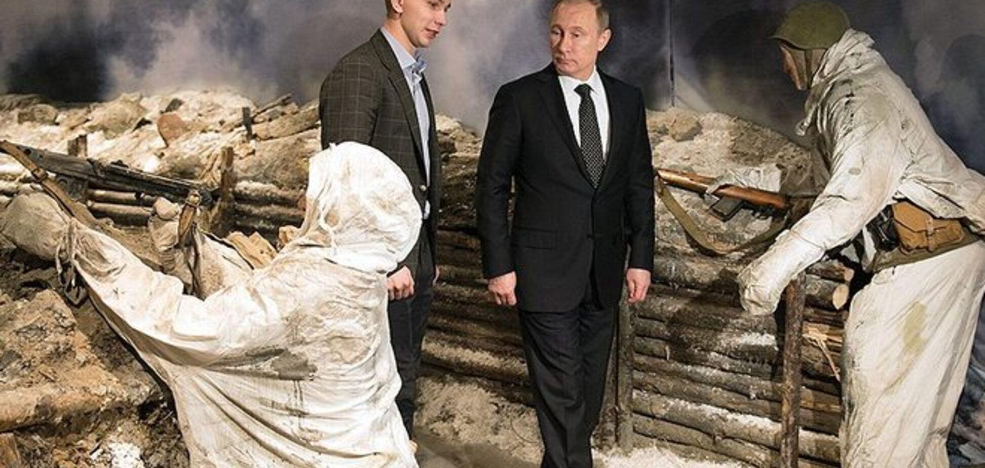 Россиянин в окопе! И там хорошо вдвоём, в этом окопе – Путину и России