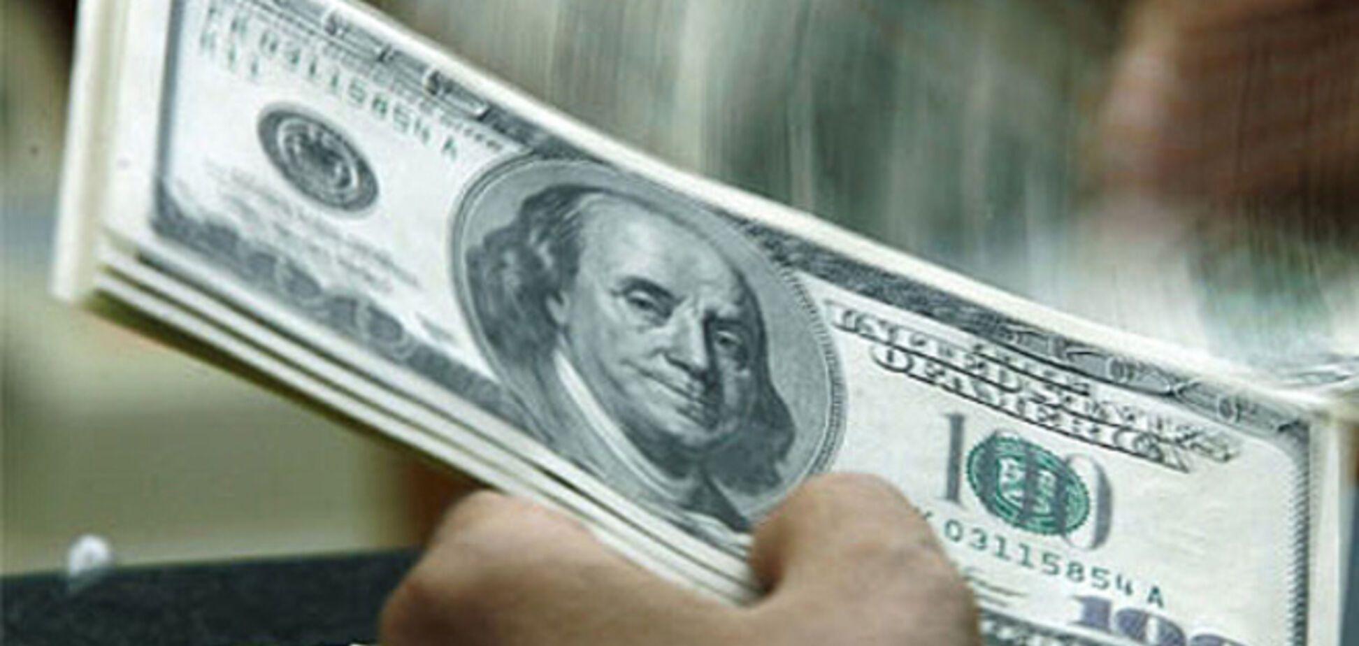Курс долара знизився в обмінних пунктах України