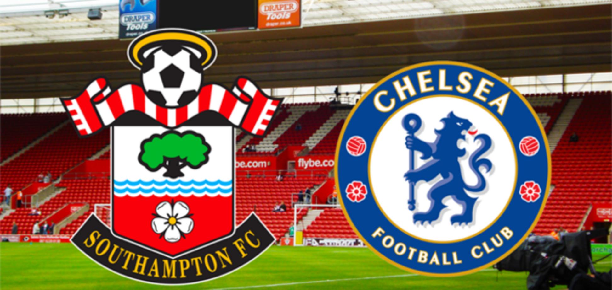 Саутгемптон - Челси - 1-1: осечка лидера