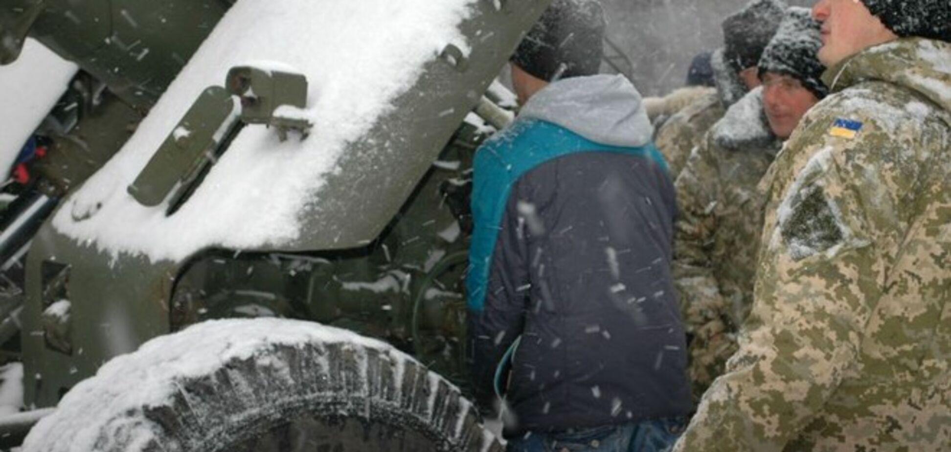 В Запорожье показали военную технику, 'воевавшую' в зоне АТО: фото  с выставки