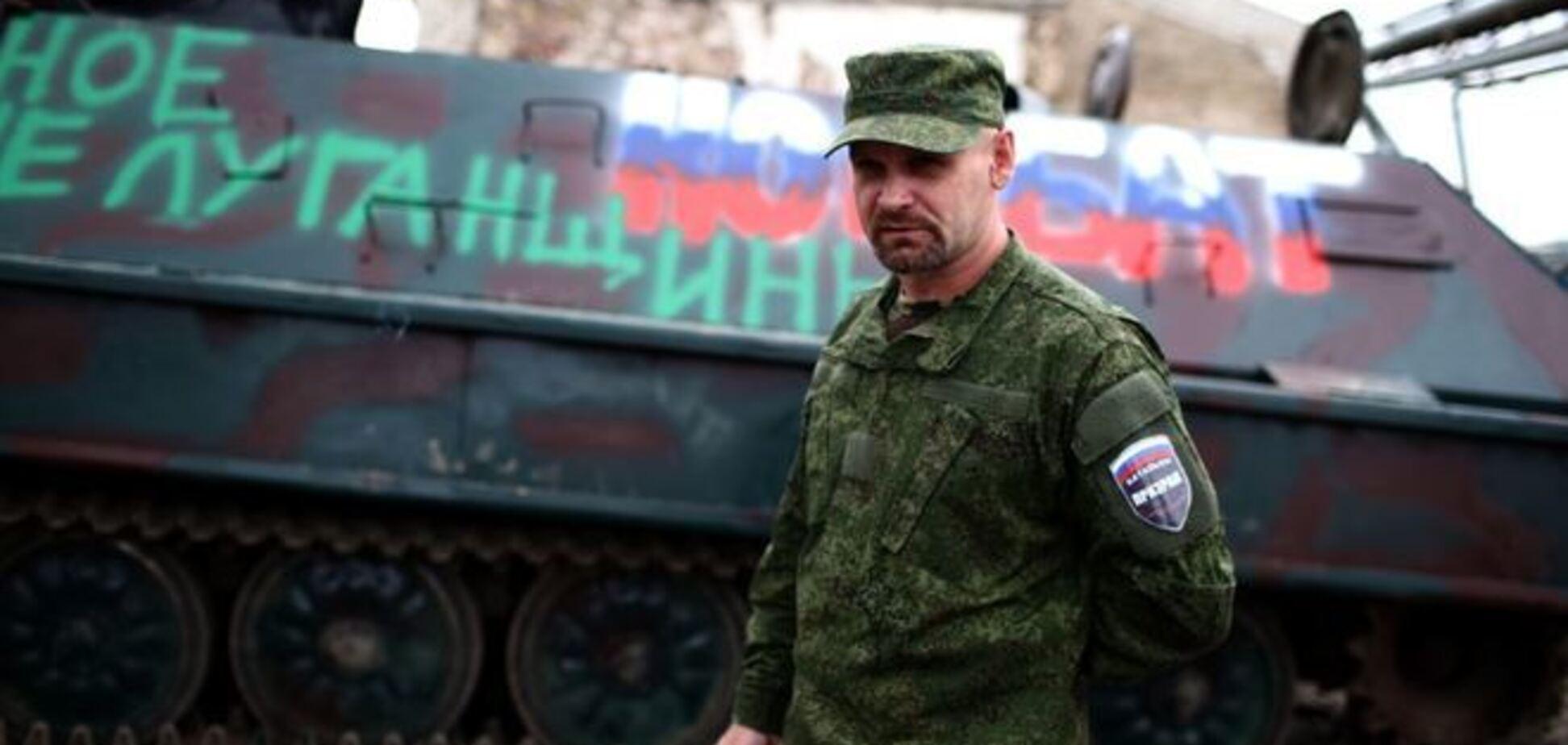 Террористы Мозгового взбунтовались против 'армии 'ЛНР'