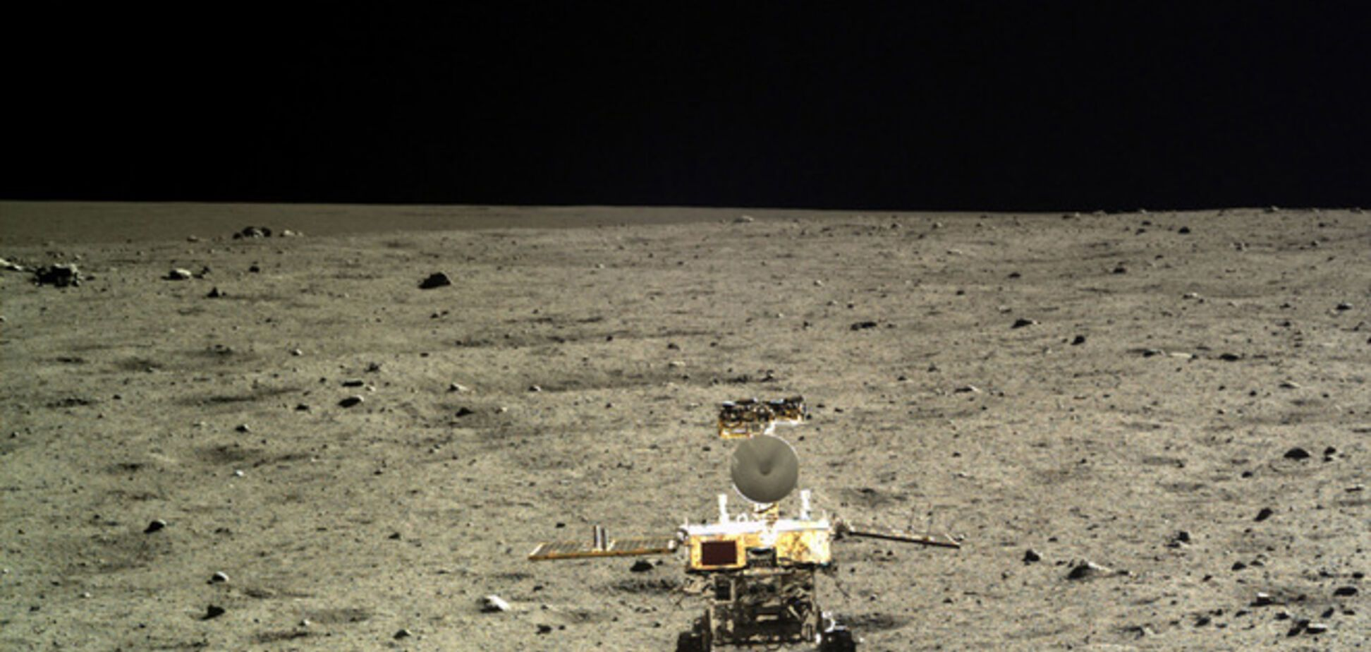 Опубліковані нові фото 'Нефритового кролика' з Місяця