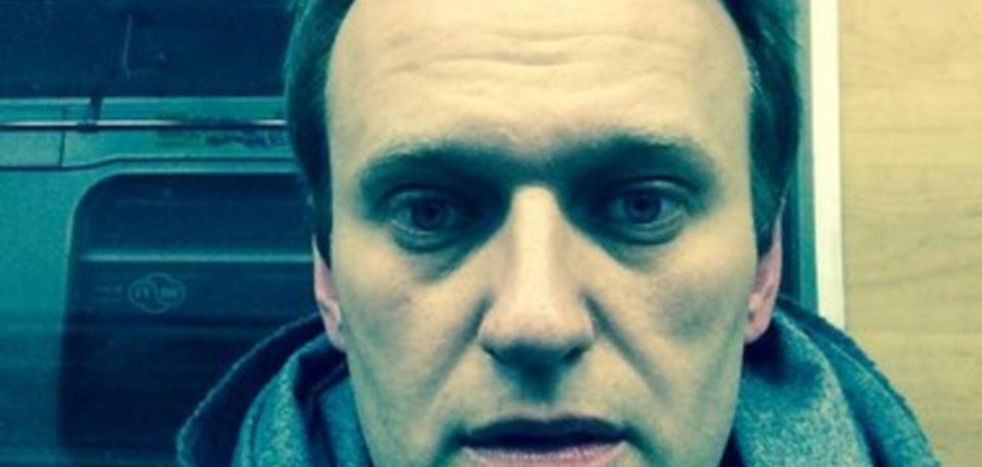 Навальный в нарушение домашнего ареста поехал на митинг на Манежную площадь