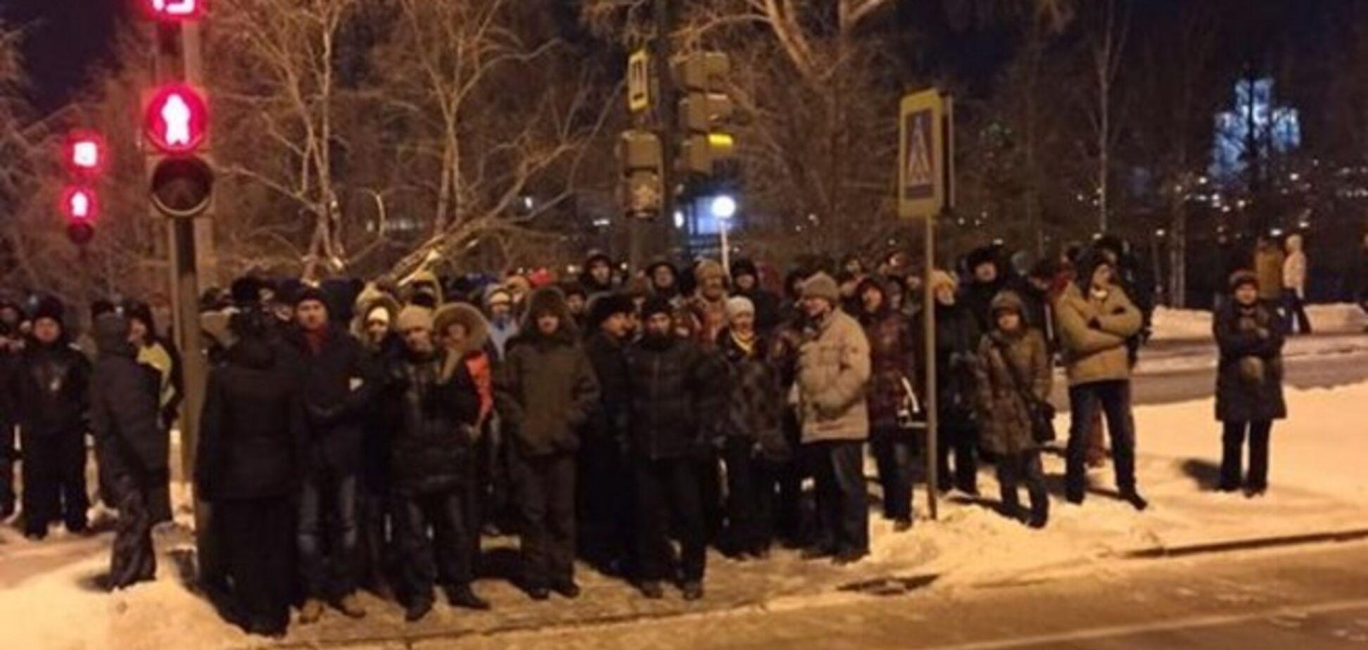 Жителі Єкатеринбурга вийшли на акцію на підтримку Навальних