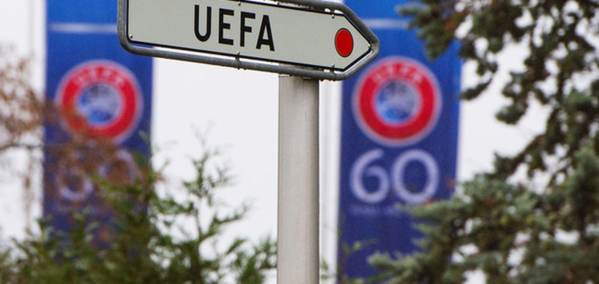 УЄФА зробить в Криму спеціальну футбольну зону