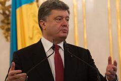 Порошенко заявил, что футбольный Крым был и будет украинским