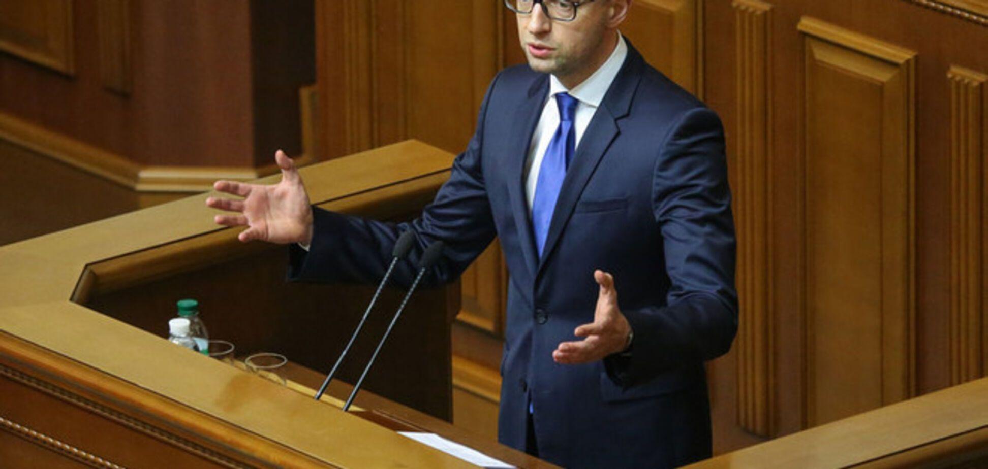 Яценюк предложил обложить украинцев новым налогом, за неуплату которого арестуют имущество
