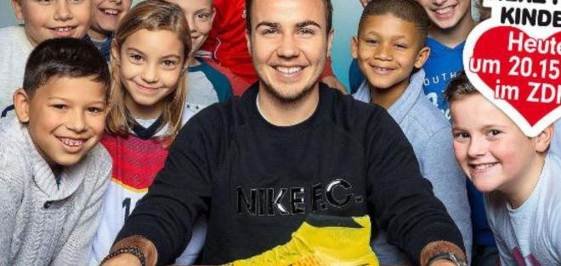Немецкий футболист продал свой 'ботинок' за 2 млн евро