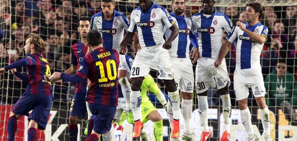 Барселона - Эспаньол - 5-1: смотреть видео голов