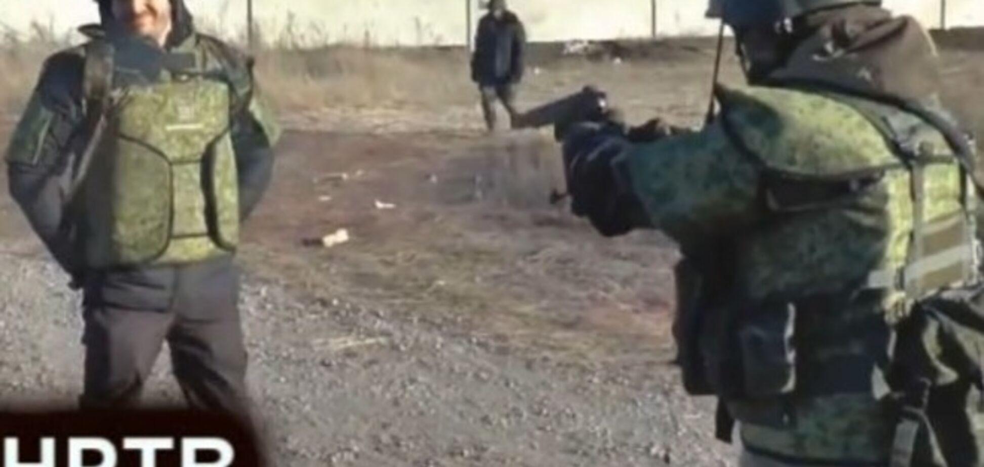 Моторола підстрелив російського волонтера: опубліковано відео