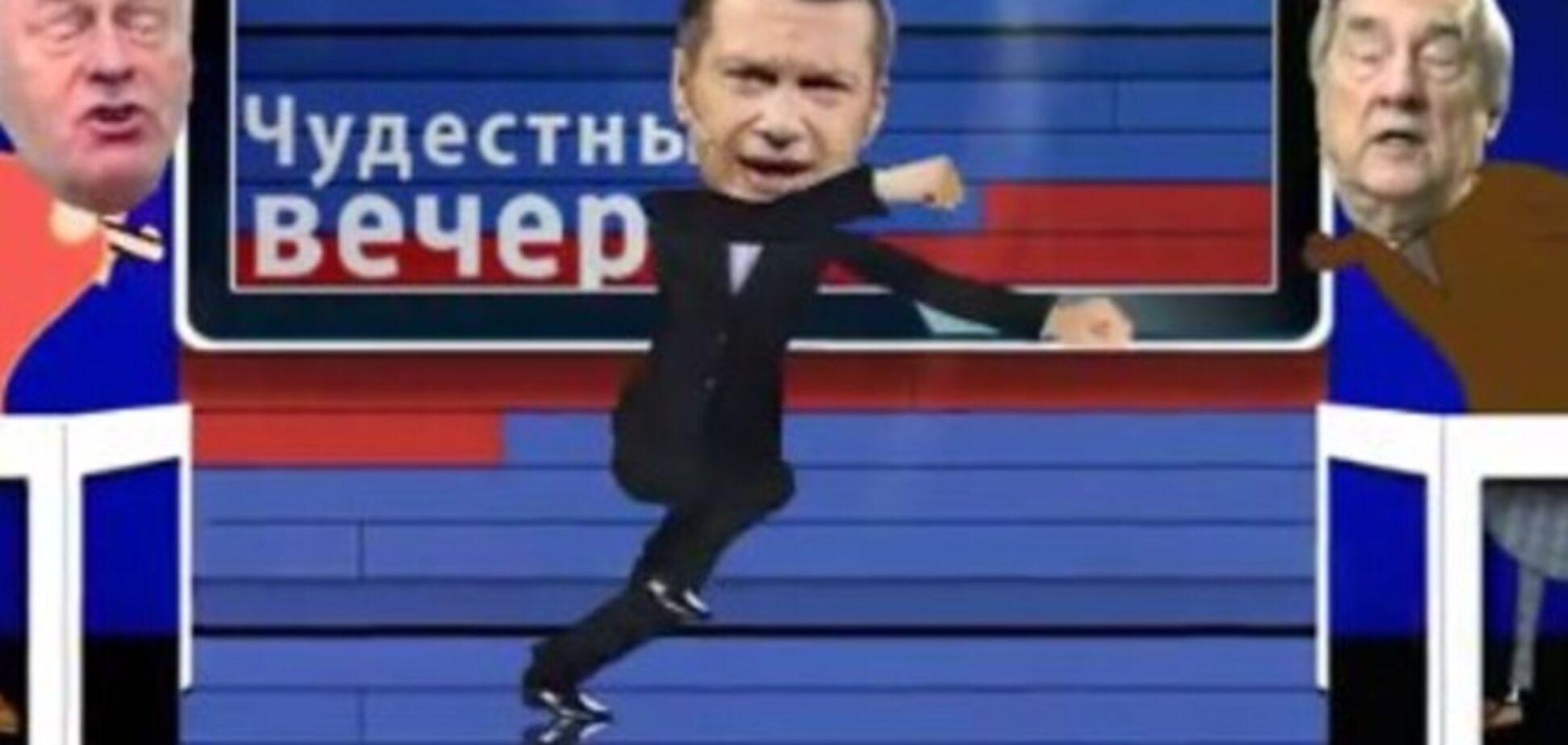 В сети показали, что делает с нормальным человеком российское ТВ: ироничное видео
