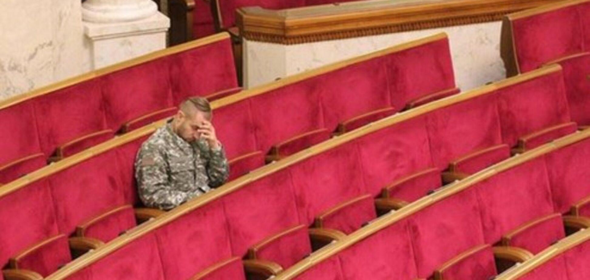 Все думали, что он спал: стало известно, чем занимался казак Гаврилюк во время перерыва в Раде