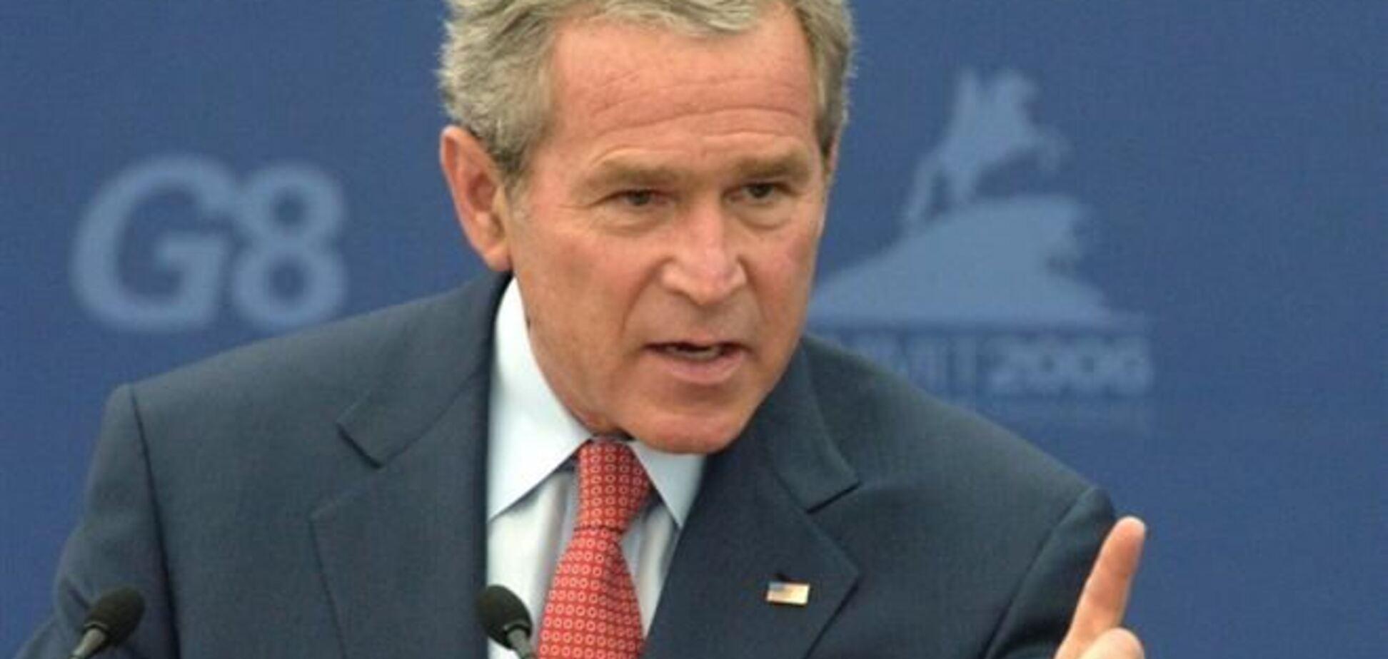 Американець з рушницею погрожував Бушу-молодшому