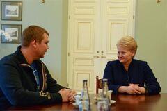 Булатов подякував президента Литви за допомогу