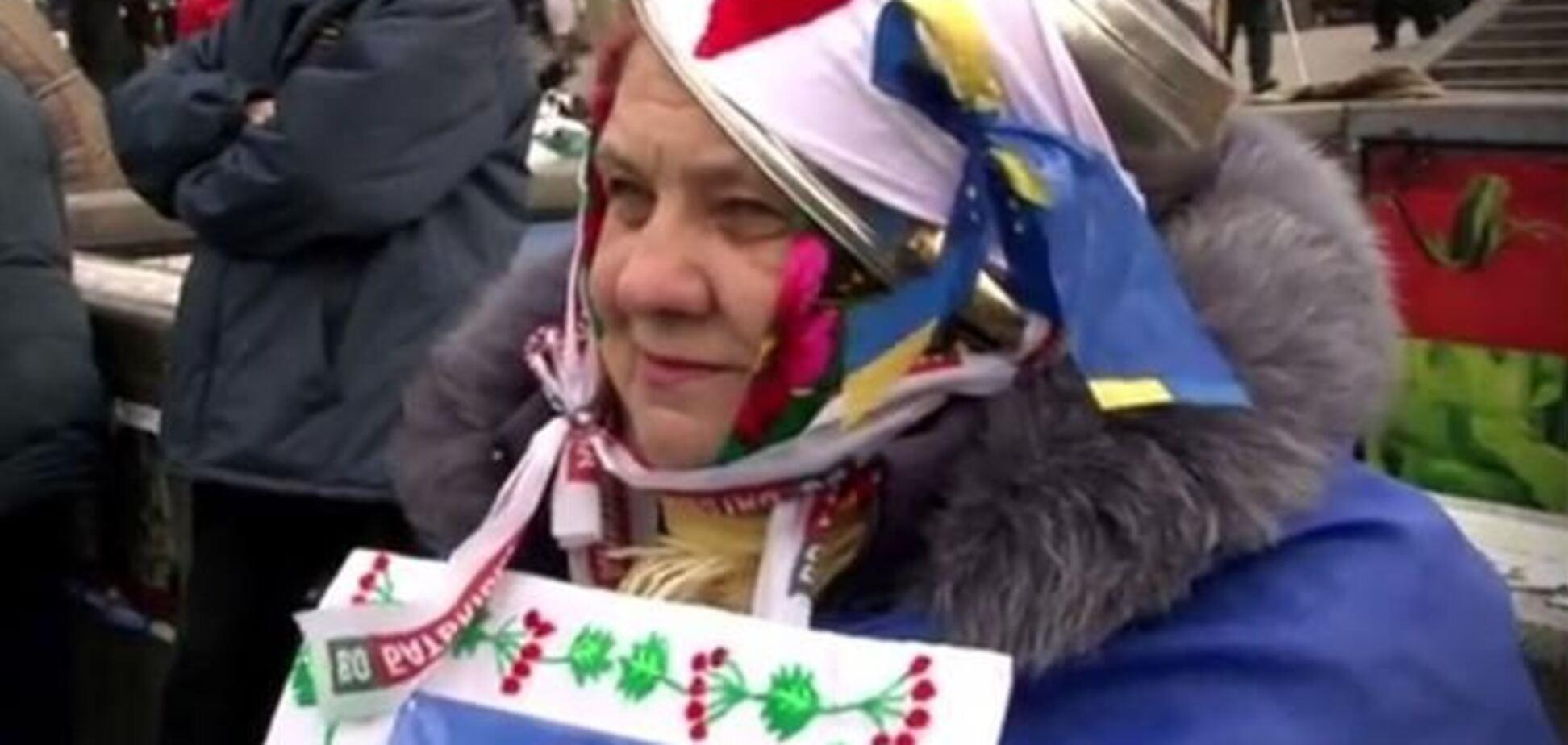 Любовь на Майдане