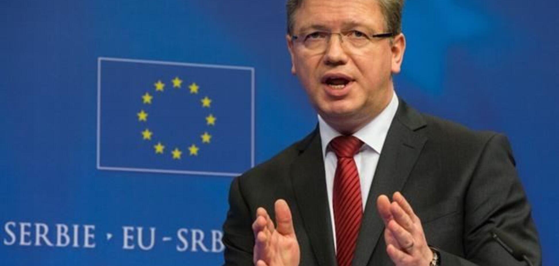 У Євросоюзі не говорять про дострокові вибори Президента в Україні - Фюле