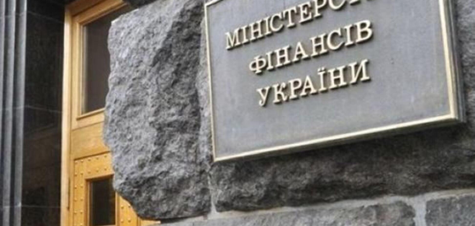 Украина в 2014 году возьмет в долг почти 19 миллиардов долларов - Минфин