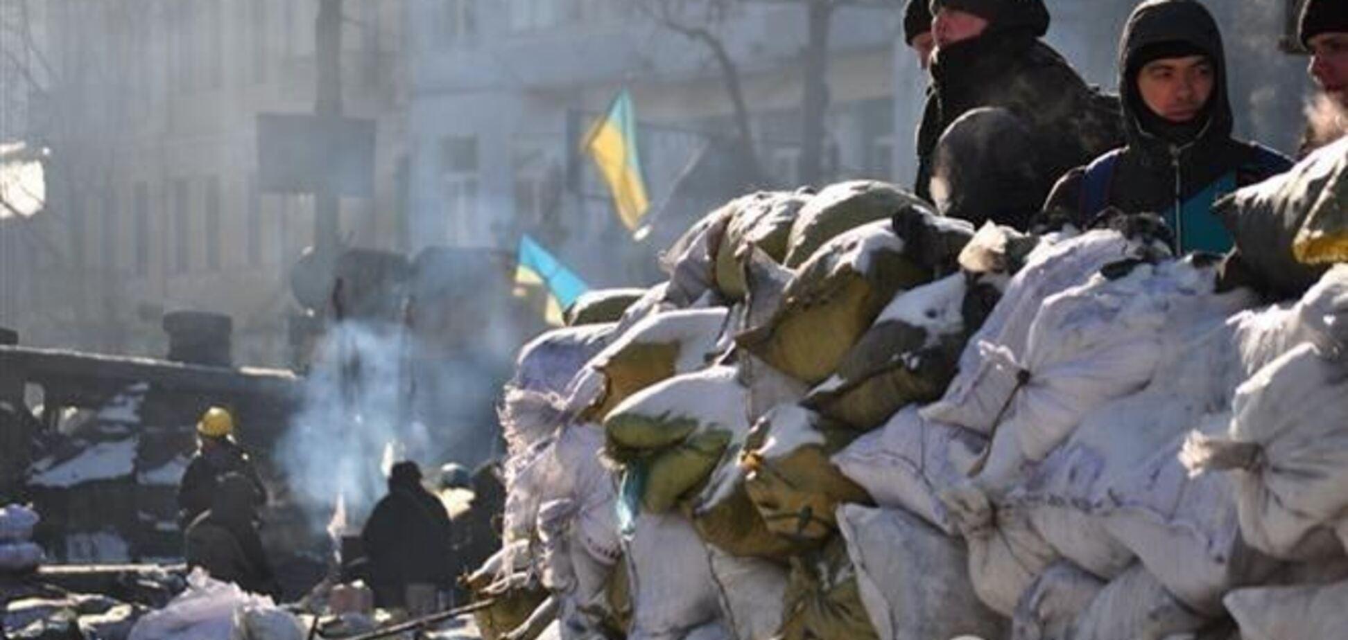 Активісти не підуть з барикад біля будівлі КМДА