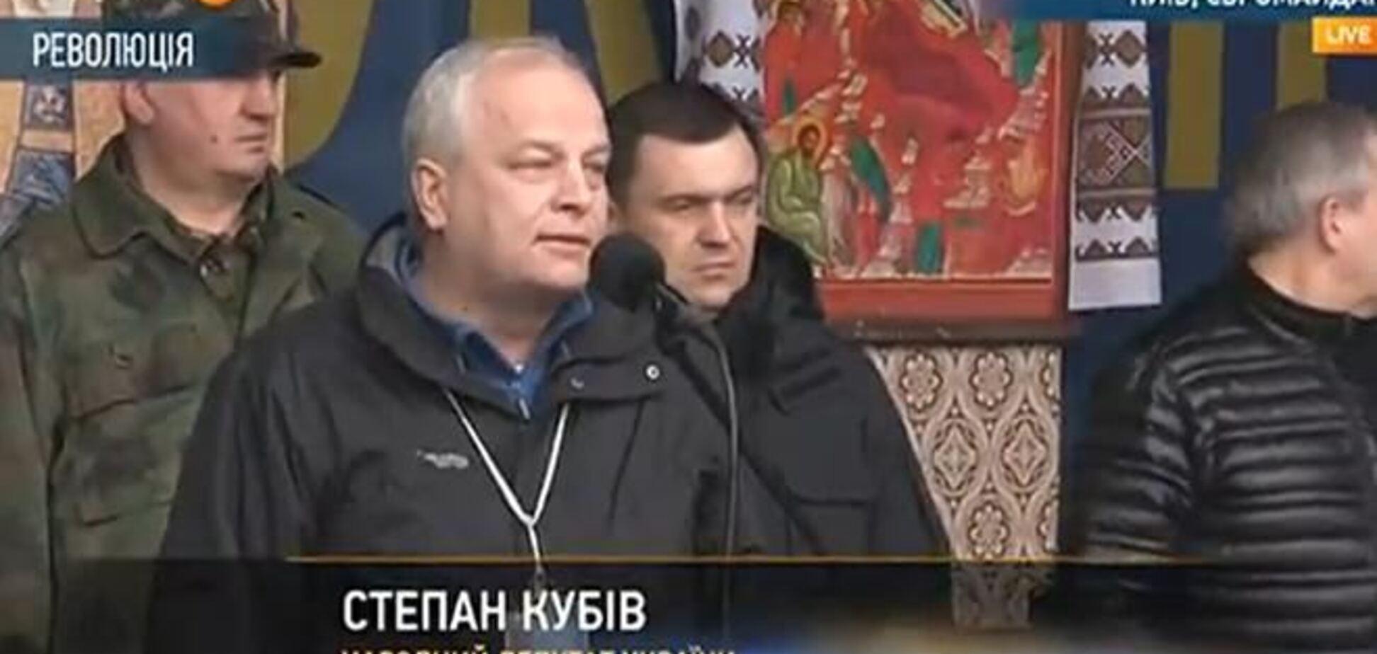 Комендант Евромайдана: люди уходят из админзданий ради свободы активистов