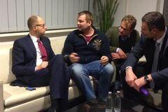 Кличко и Яценюк встретились в Берлине с Булатовым