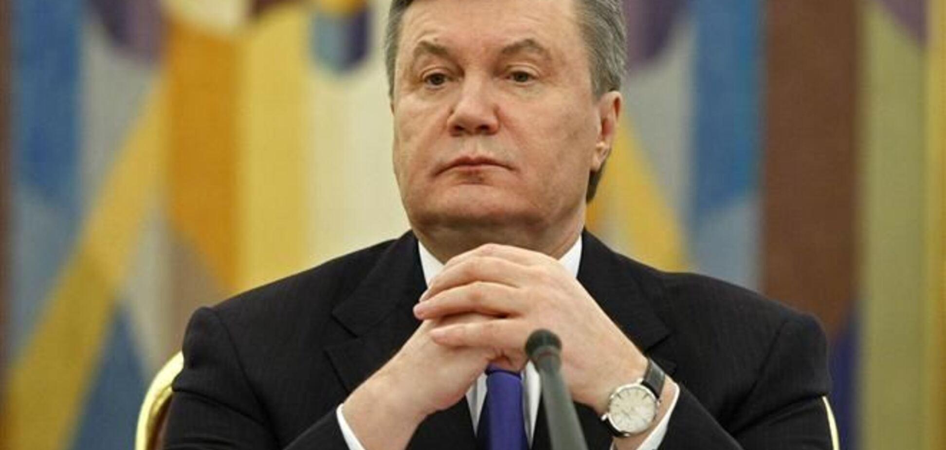 Янукович ініціює дострокові вибори Президента