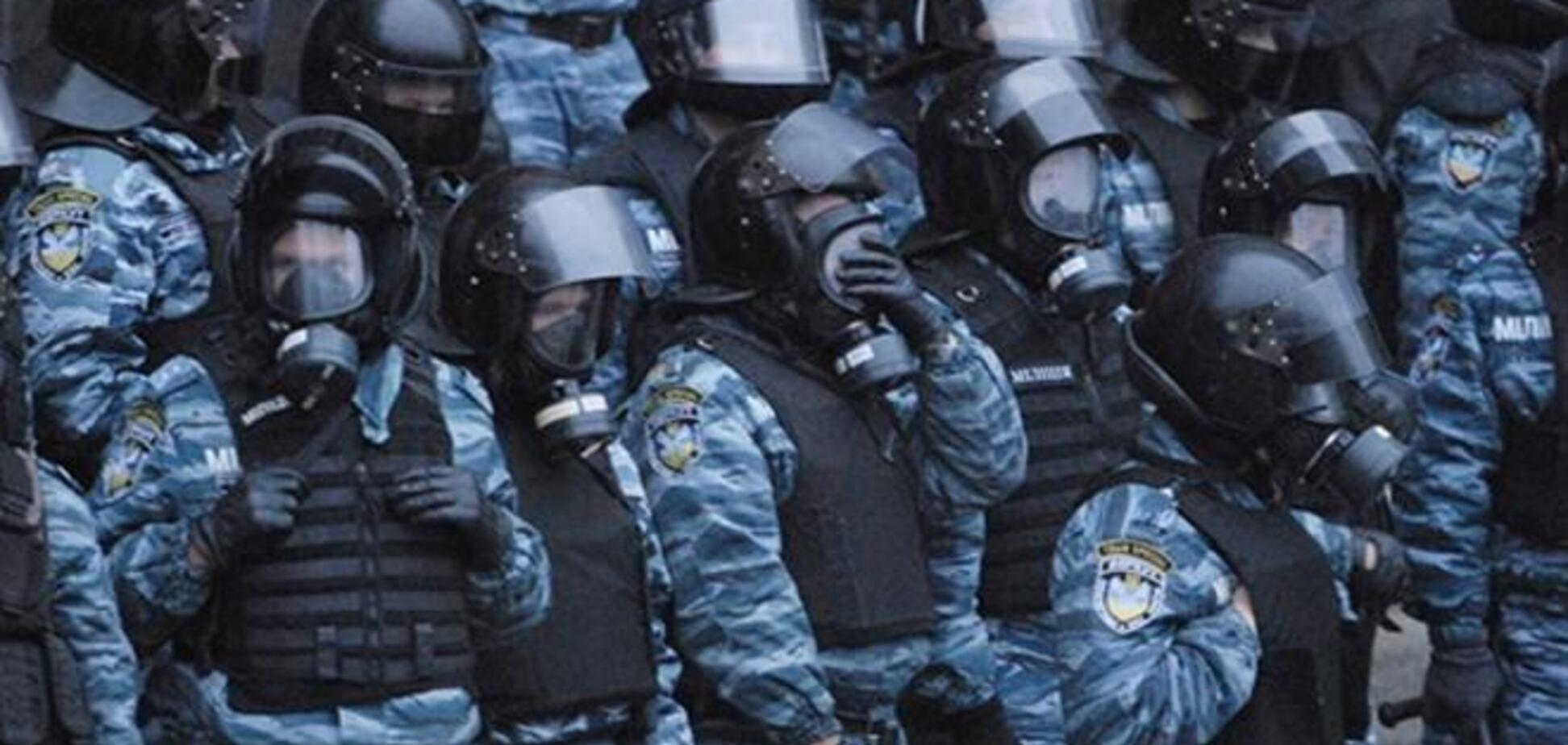 'Беркут' дав п'ять хвилин противникам з'їзду 'Українського фронту', щоб 'натовп розсмокталася'