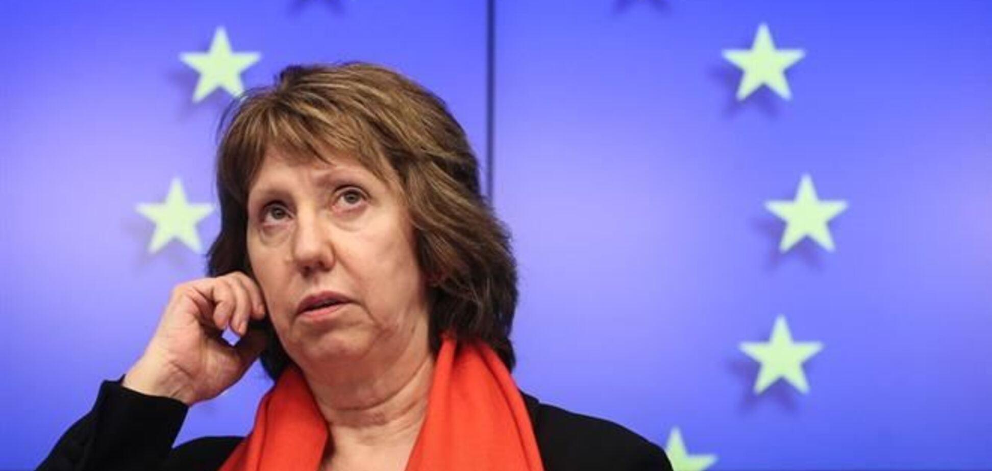Ештон закликала українських політиків до продовження діалогу