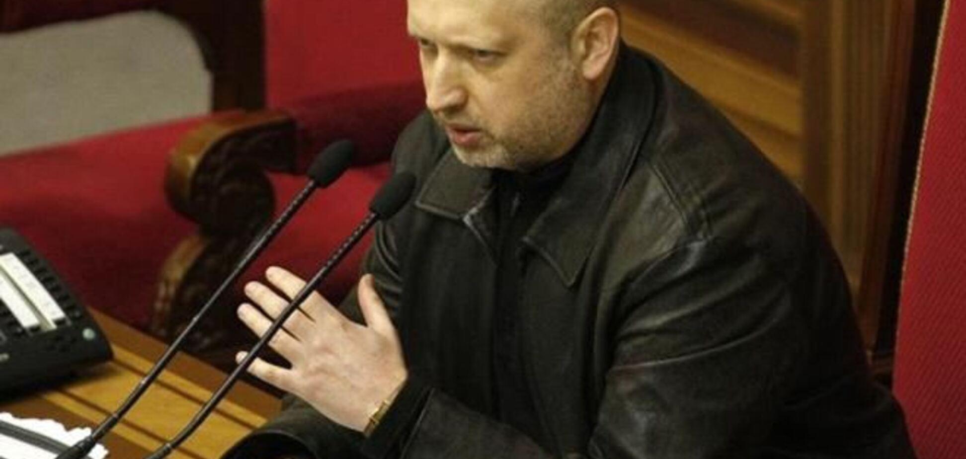 Турчинов: Україна продовжує курс на євроінтеграцію при повній підтримці ЄС