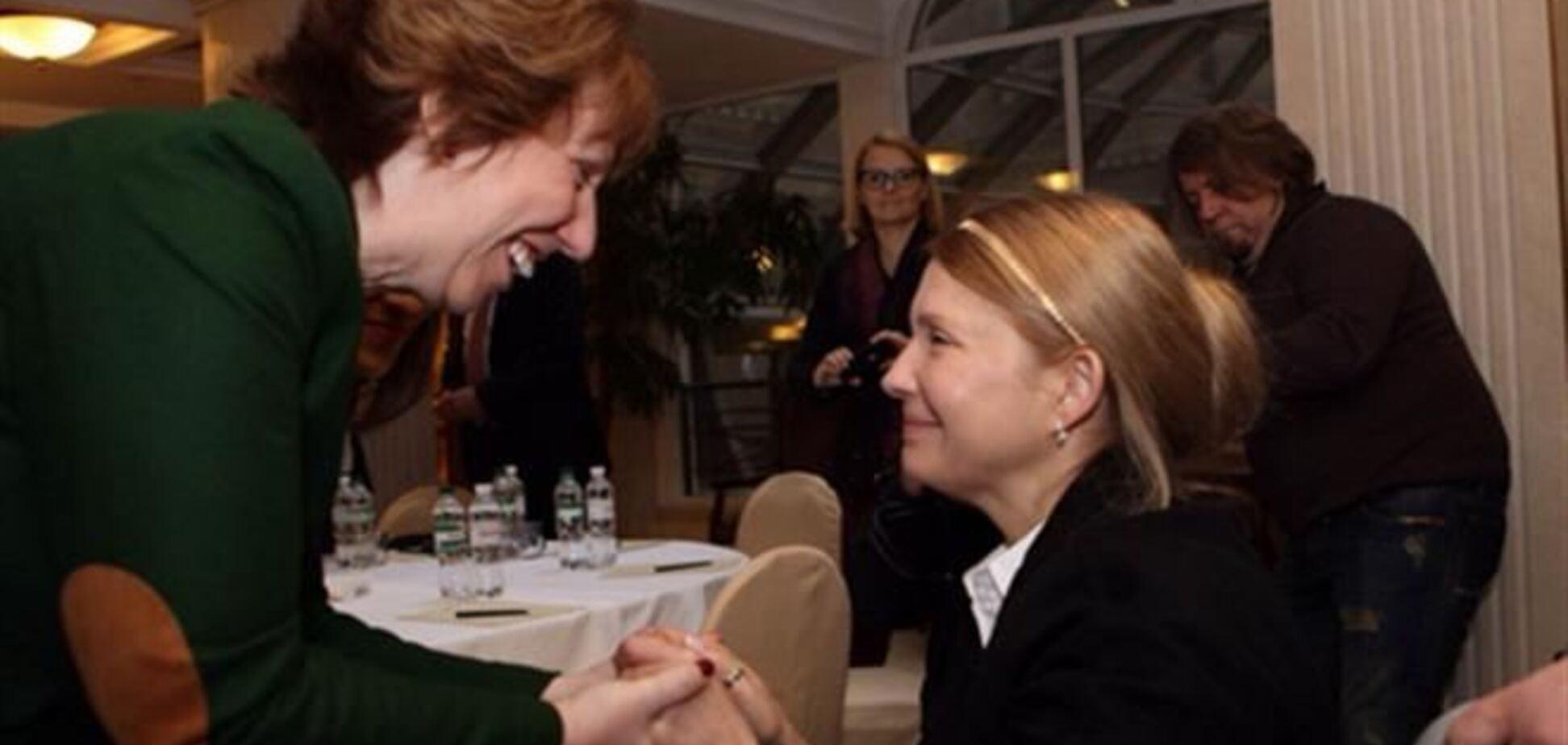 Ештон і Тимошенко будуть прискорювати євроінтеграцію України