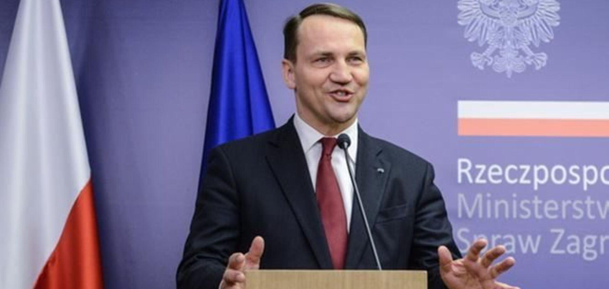 Сікорський: Україна може підписати Угоду про асоціацію з ЄС після виборів президента