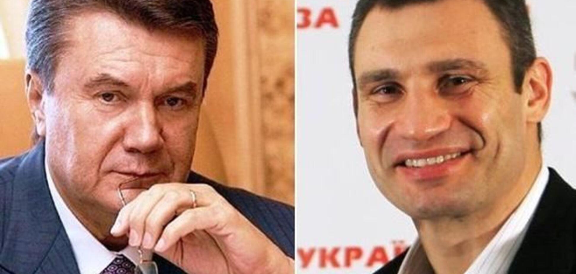 У другий тур проходять Янукович і Кличко - опитування