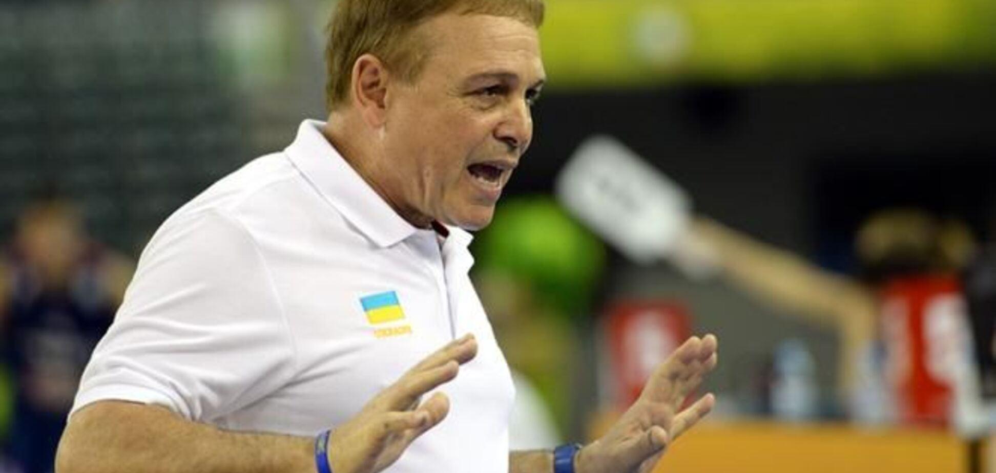 Фрателло: игра против США - подарок для украинского баскетбола