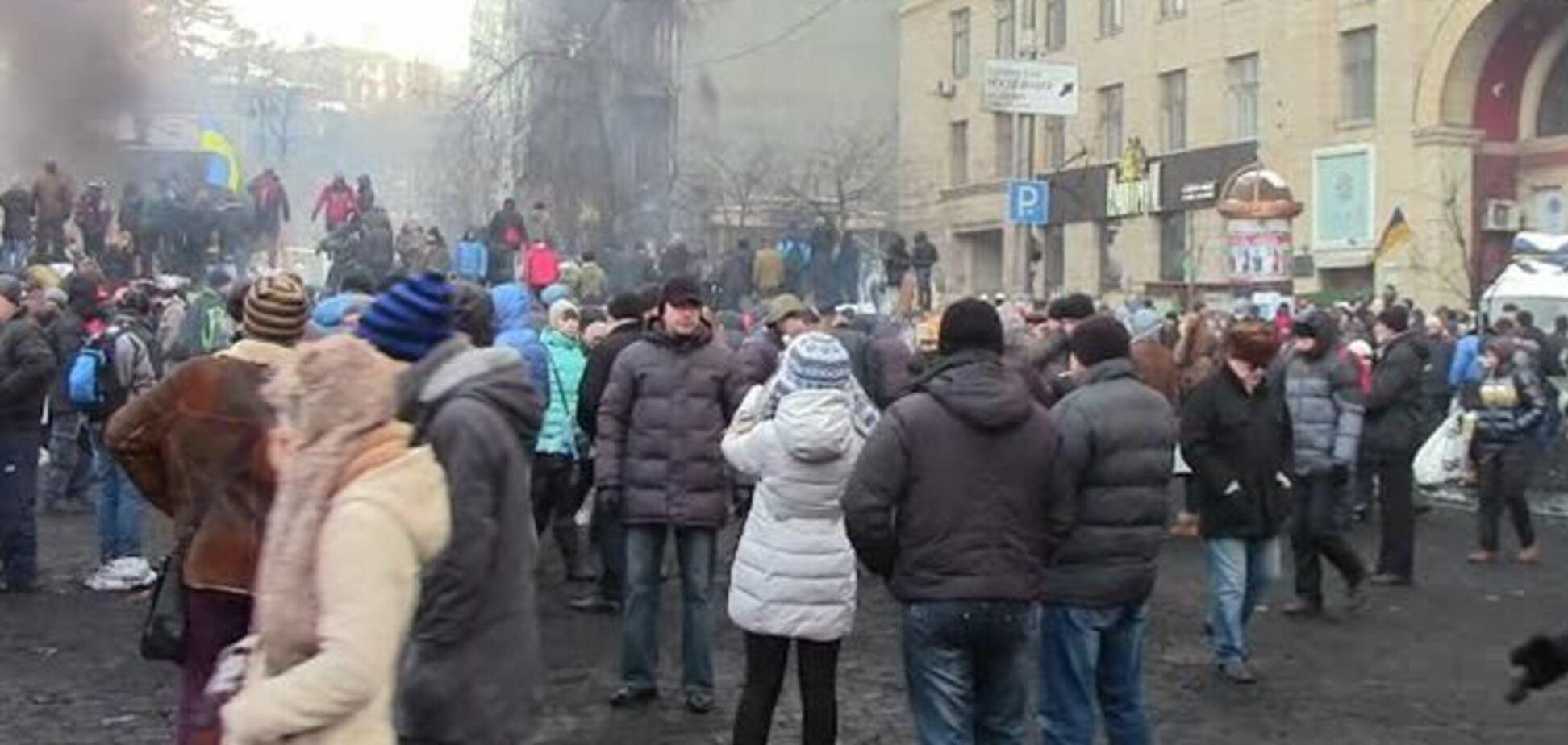 Що робити з барикадами на Грушевського після перемоги?