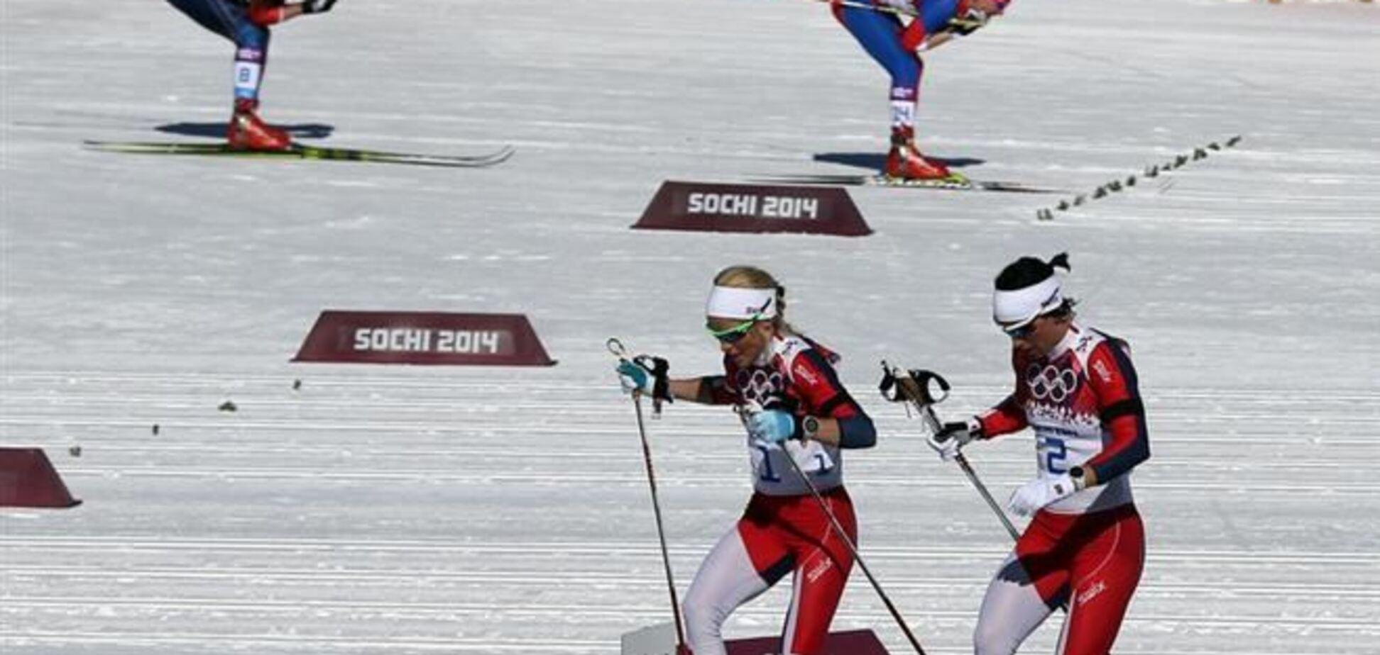 Сочи-2014. Украинки не добрались до медалей в скиатлоне