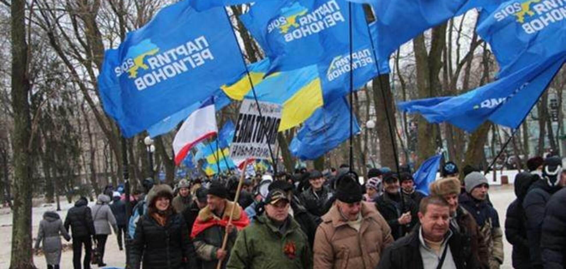 У Полтаві близько 10 тисяч людей вийшли на мітинг 'Збережемо Україну'