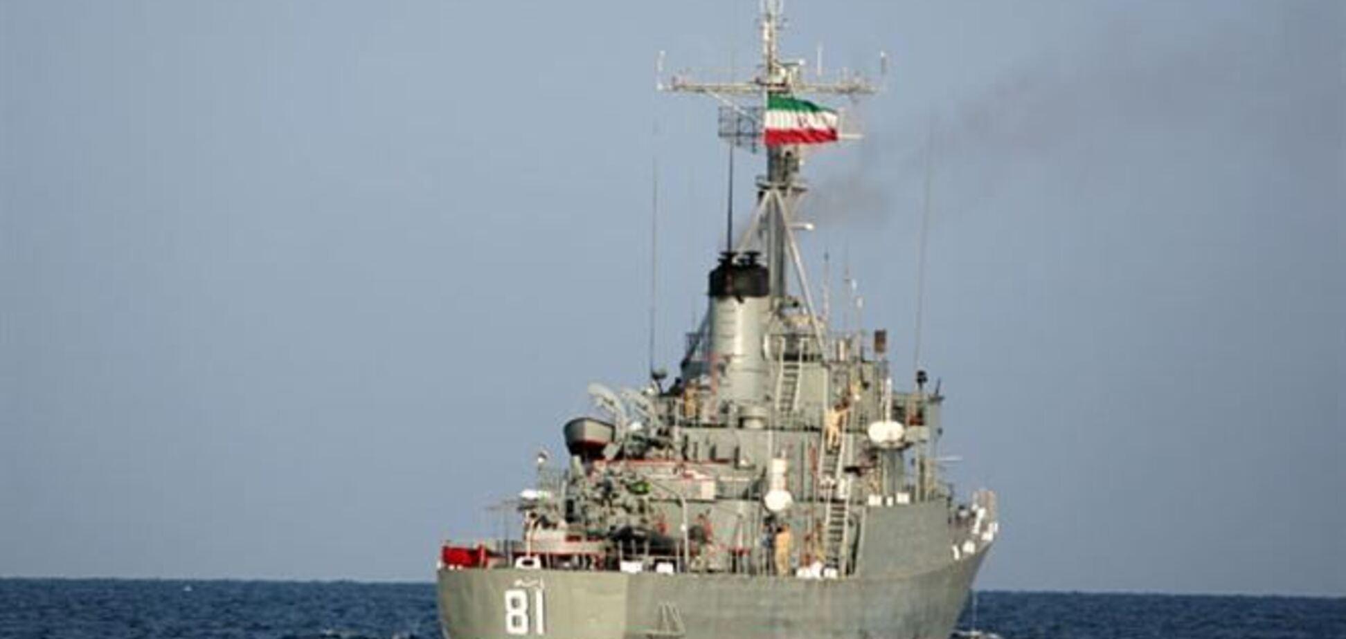 Іран послав військові кораблі до кордонів США
