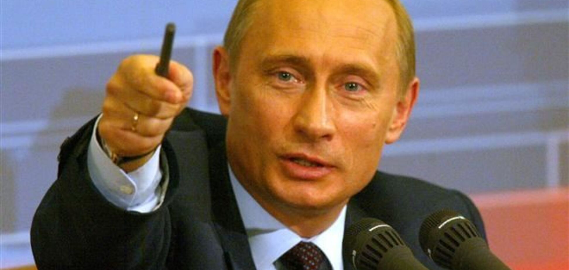 Путину бедному мозг больной свело