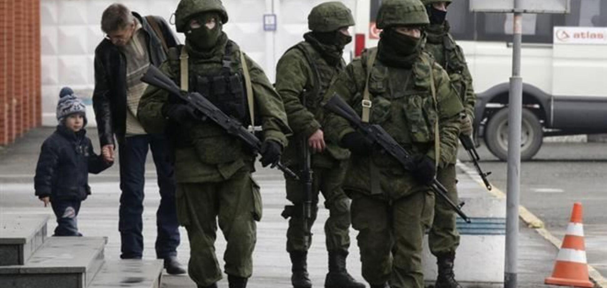 В Крыму продолжается противостояние