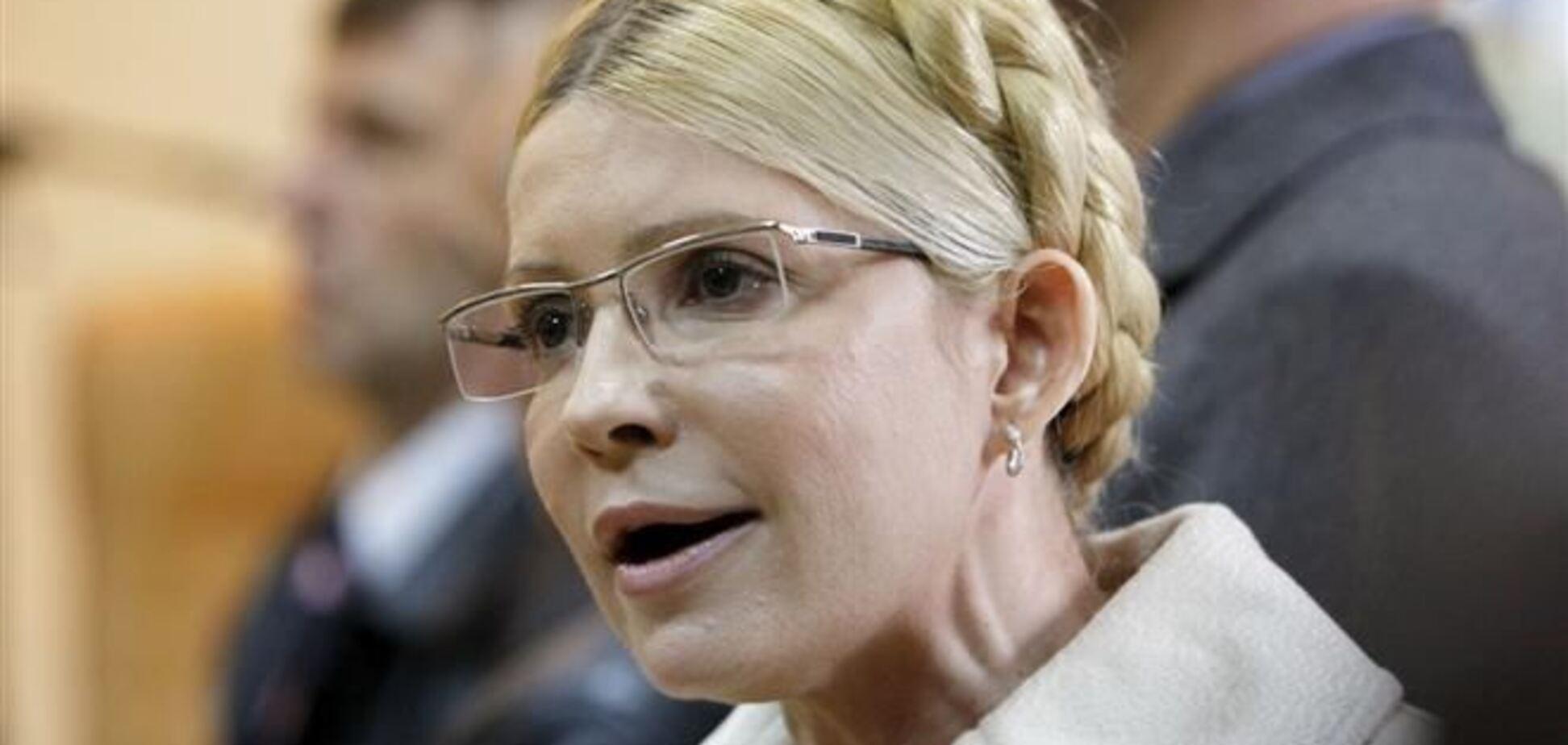 Тимошенко не летит в Москву - 'Батькивщина'