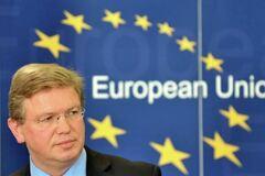 Фюле: формулювання питань на референдумі в Криму несе загрозу стабільності в Європі