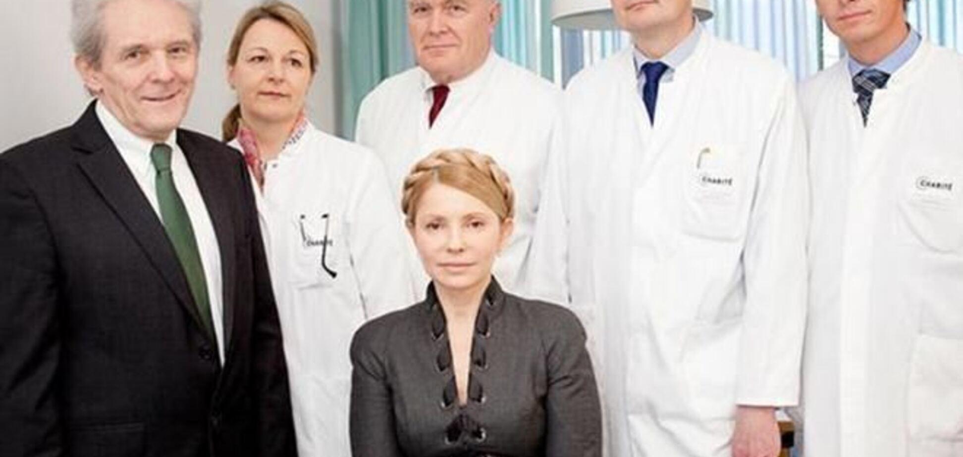 Тимошенко закончила лечение в Германии и вылетает в Киев