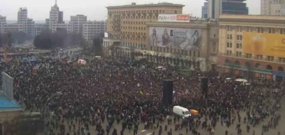 Нардеп заявил, что драку в Харькове устроили 2 тысячи россиян из Белгорода