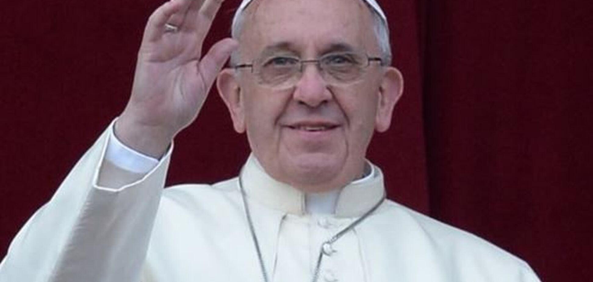 Папа Римский призвал молиться за Украину