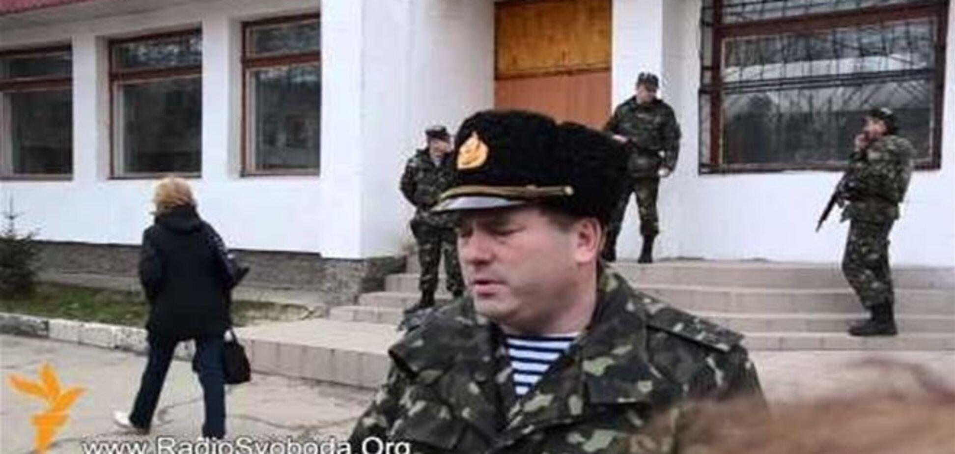 ВМС Украины отказались покидать свои позиции в Феодосии