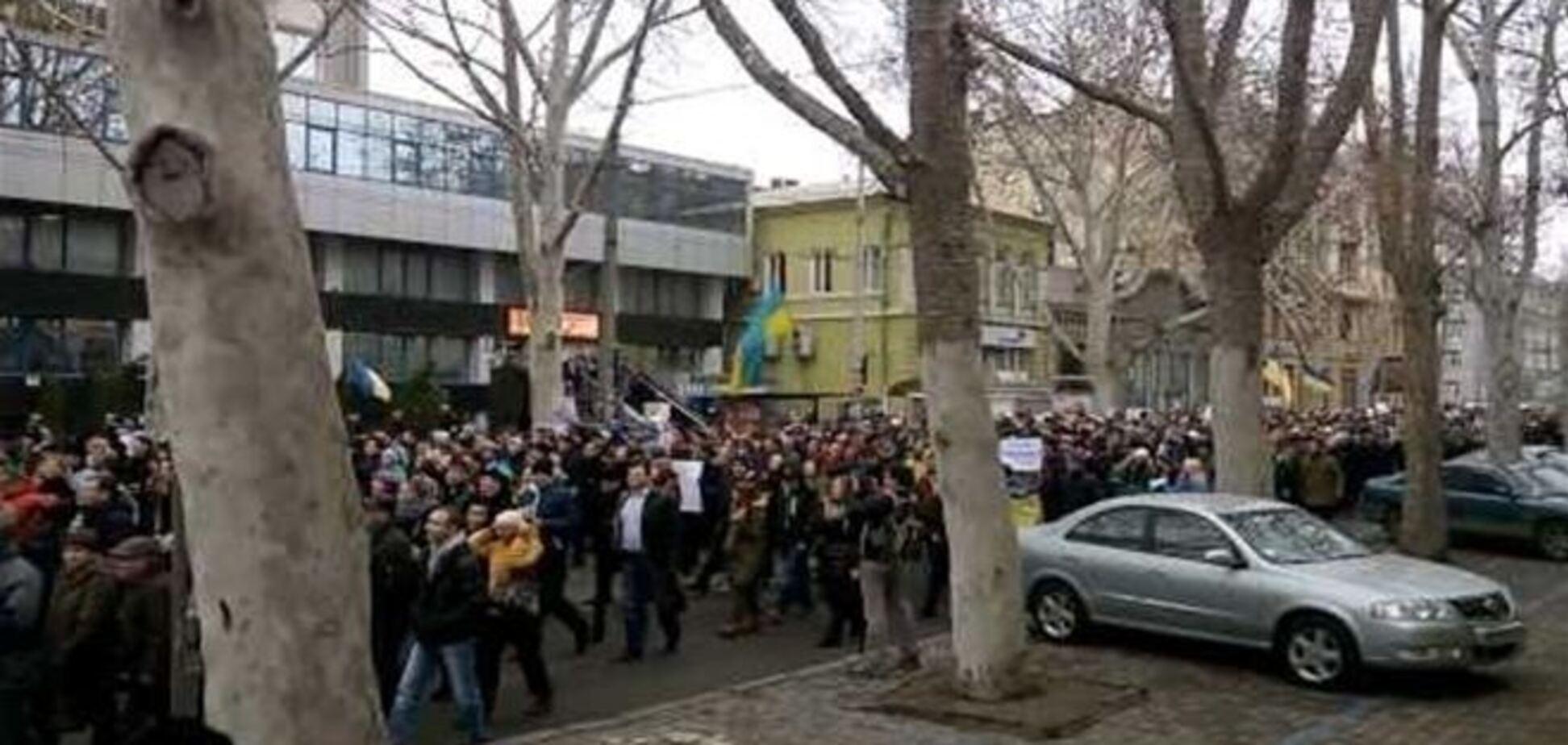 Антивоенный митинг в Одессе - 2