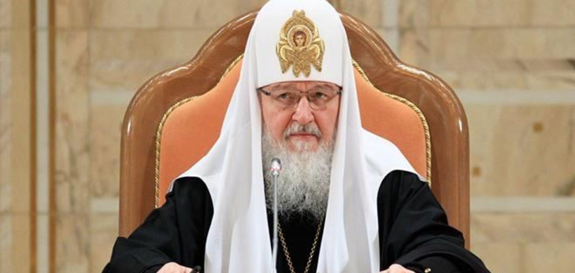 Патриарх Кирилл призвал Турчинова не допустить насилия