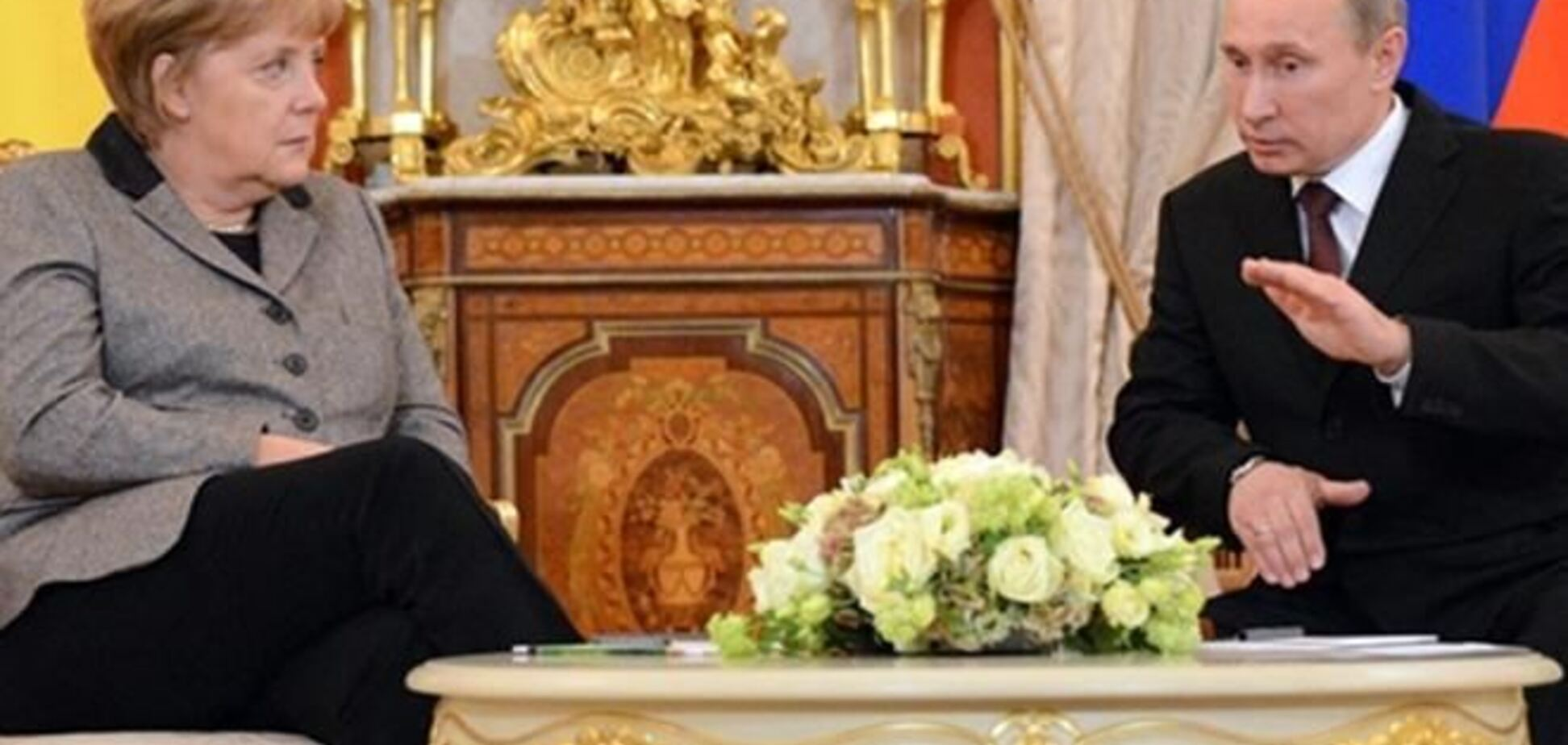 Меркель вмовила Путіна розслідувати ситуацію в Криму