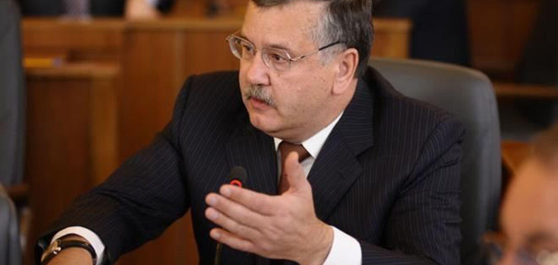 Гриценко просить Тимошенко не йти у президенти